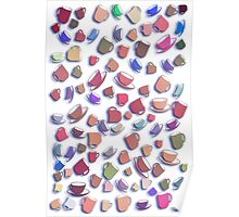 Tumbling Pottery - Kitchen Whimsies Poster