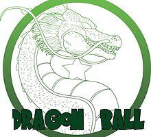 Dragon Ball -Mortal kombat logo style by mayuzawa