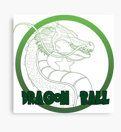 Dragon Ball -Mortal kombat logo style Canvas Print