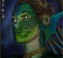 The Peacock Dragon Fairy by janrique