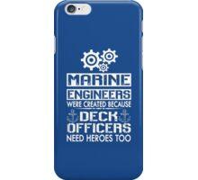 MARINE ENGINEERS iPhone Case/Skin