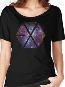 Exo-nebula Women's Relaxed Fit T-Shirt