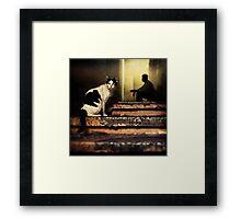The Street Cat #0101 Framed Print