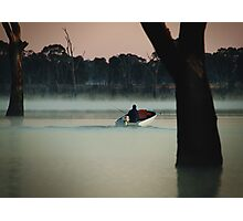 Heading Out,Going Fishing,Lake Fyans Photographic Print