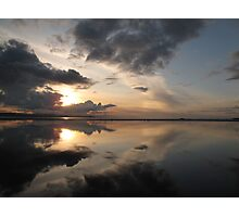 sunset from West Kirby Photographic Print