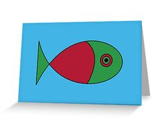 Big Fish Card Greeting Card