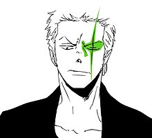 Zoro-san Green Eye by Saphiria333