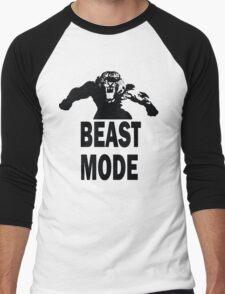 Beast Mode T-shirt Men's Baseball ¾ T-Shirt