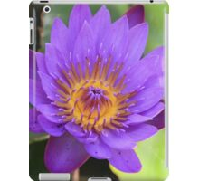 Lilac Water Lily iPad Case/Skin