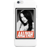 Aaliyah iPhone Case/Skin