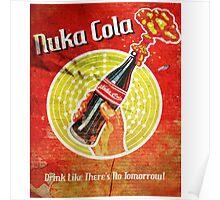 Nuka Cola Drink Poster