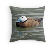 """ Another Endangered Specis"" Throw Pillow"