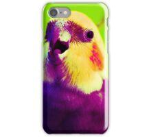 Smokey the Cockatiel  iPhone Case/Skin