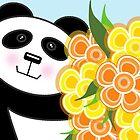 Panda Card by Louise Parton
