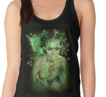 fae dreaming wood nymph Women's Tank Top