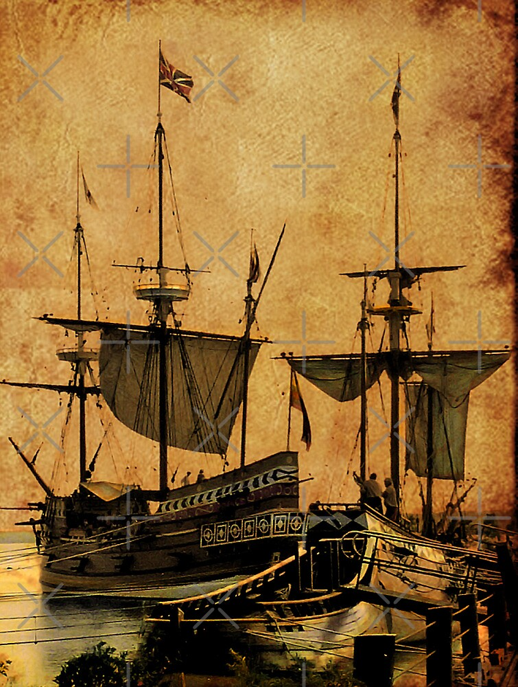 Tall Ships by Catherine Hamilton-Veal  ©