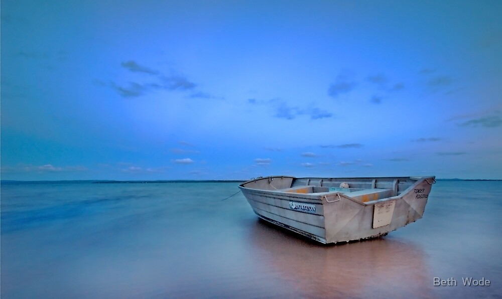Into the Blue - Redland Bay by Beth  Wode