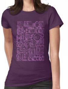 Paparazzi Purple Womens Fitted T-Shirt