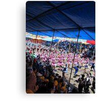 Oruro: Carnaval Canvas Print