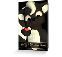 Welsh Language Mother's Day Card Sul Y Mamau Hapus Greeting Card