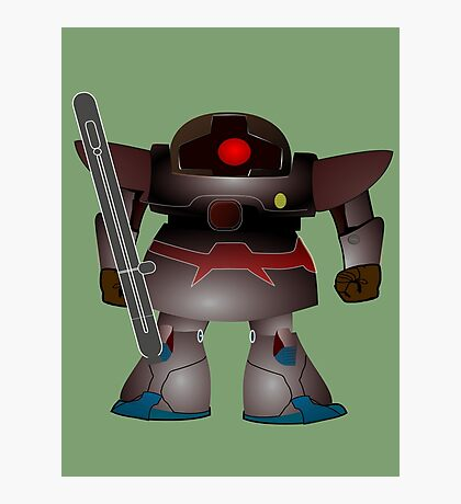 Battle Bot by Chillee Wilson Photographic Print