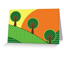 Trio Card Greeting Card