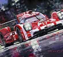 2015 Le Mans 24H Porsche 919 Hybrid by Yuriy Shevchuk