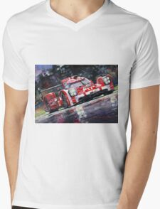2015 Le Mans 24H Porsche 919 Hybrid Mens V-Neck T-Shirt