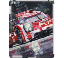 2015 Le Mans 24H Porsche 919 Hybrid iPad Case/Skin