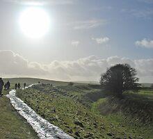 Walking the Avebury Ditch by Jason Clarke