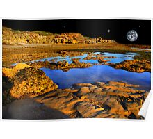 Planets and Water Poster