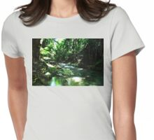 Mt Cougal National Park 2 Womens Fitted T-Shirt