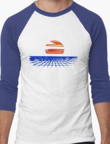 Digital Sunset T-shirt Men's Baseball ¾ T-Shirt