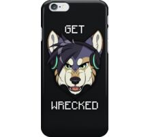 GET WRECKED - Wolf iPhone Case/Skin