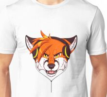 Headphone Fox Unisex T-Shirt