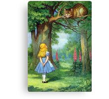 Chesire Cat Canvas Print