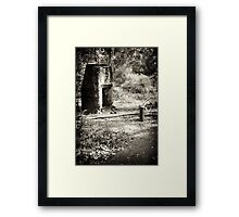 POW WW2 camp, Jarrahdale Framed Print