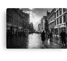 On Buchanan Street Canvas Print