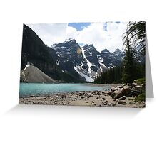 Mountain Thoughts Greeting Card