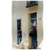 Art & gift shop, Havana, Cuba Poster