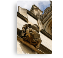 Gargoyle, Magdalen college, Oxford Canvas Print