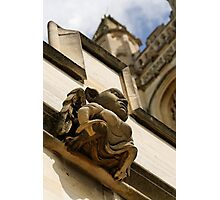 Gargoyle, Magdalen college, Oxford Photographic Print