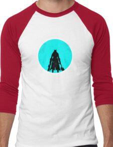 The Sky & Cosmos are Blue Men's Baseball ¾ T-Shirt