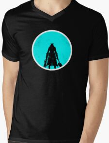 The Sky & Cosmos are Blue Mens V-Neck T-Shirt