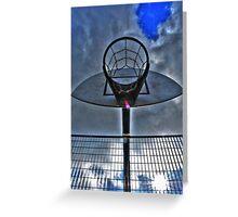 Hoops Heaven Greeting Card