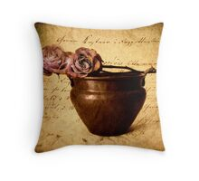 Love Notes Throw Pillow