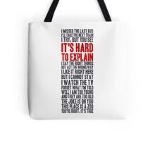 i try, but you see Tote Bag