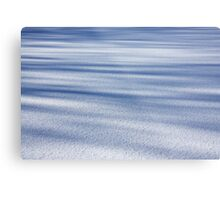 Shadow Painted Ice ... Sprinkled with Snow Metal Print