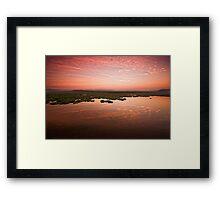 Desperate dawn Framed Print
