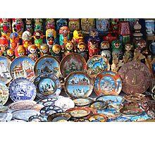 Russian souvenir Photographic Print